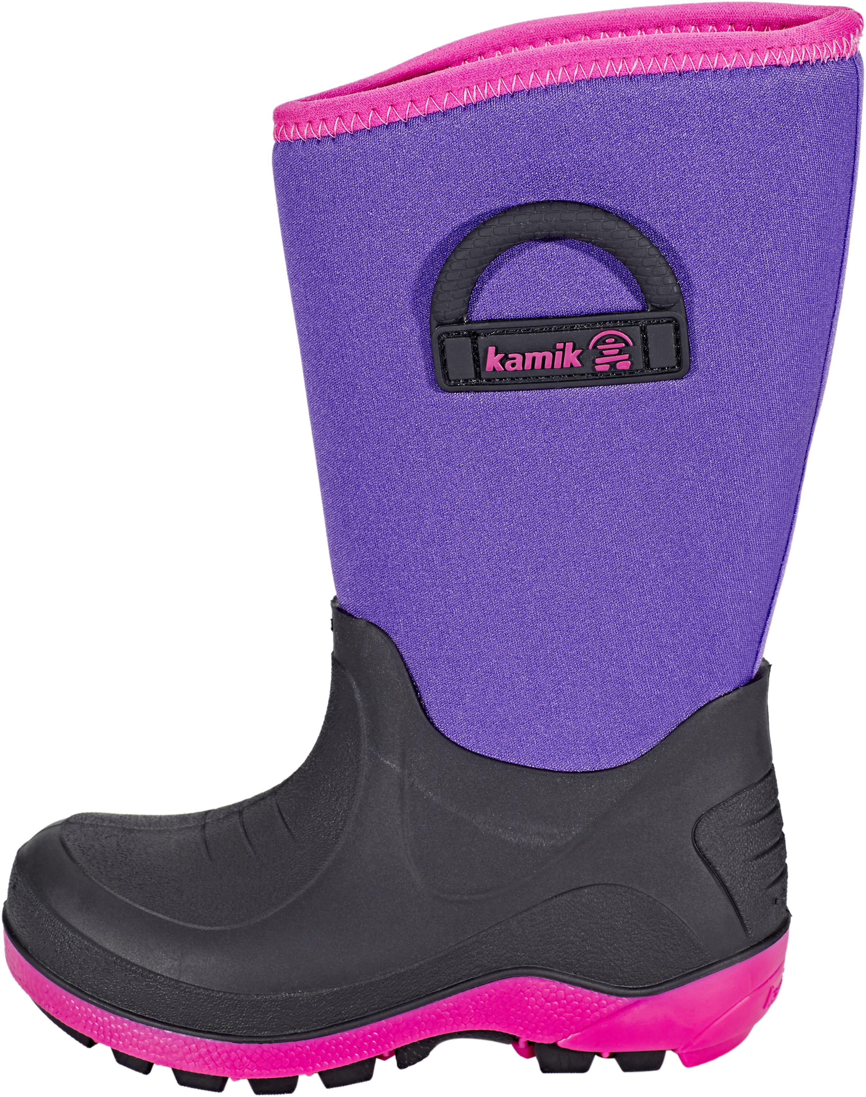 Kamik Bluster Rubber Boots Børn, purple | Find outdoortøj